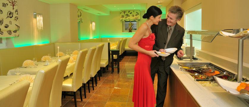 Hotel Heitzmann, Zell am See, Austria - Dining area buffet.jpg